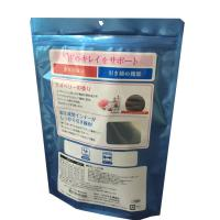 Buy cheap low MOQ good quality customized printing stand up plastic food bag with zip lock from wholesalers