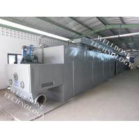 Quality Large Scale Infrared Conveyor Dryer , Adjustable Moving Speed Conveyor Belt Oven for sale