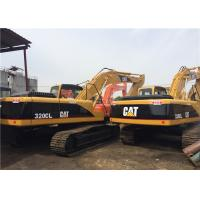 Quality 20 Tonne Second Hand Excavators 90% UC , Cat 320 Excavator 3 Years Guarantee for sale