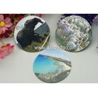 Quality Logo print mirror type thin piece fridge magnets custom with any image design for sale