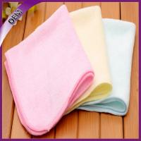 Quality 100% bamboo orgnic children handkerchief towel for sale