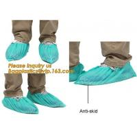 Quality Disposable Blue waterproof rain boot/shoe covers,rain cover for shoes,Eco-friendly Professional Shoe cover made in China for sale