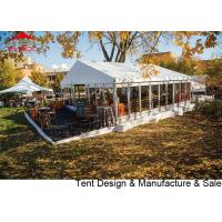 Quality Luxury Waterproof Pvc Outdoor Event Tent With Glass Wall / Large Party Tents for sale