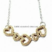 Quality Fashionable Jewelry Necklace with Heart-Shaped (NKJ-001) for sale