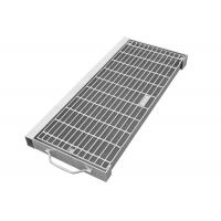 Quality Residential Drain Grate Cover Secure Anchoring Frame Square Shape Rustproof for sale