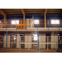 Quality ISO Certificated Rack Supported Mezzanine / Free Standing Mezzanine For High Ceiling Warehouse for sale