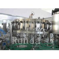 Quality Customized Carbonated Drink Filling Machine 220V Soft Drinks Filling Machine for sale