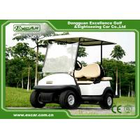 Quality Trojan Batteried Used Electric Golf Carts 4 Seater Curtis Controller for sale