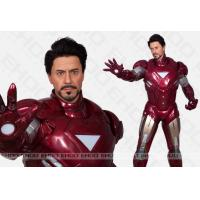 Best superman Sculpture Celebrity Wax Statues Of  ironman For cinema decoration wholesale
