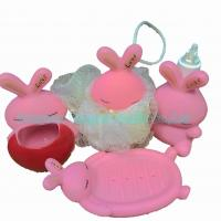 China Pink Rabbit Bath Set Toys on sale