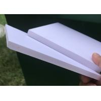 Buy Photo Mounting PVC Foam Sign Board 8mm Thinckness White Color 0.3g / Cm3 Density at wholesale prices