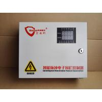 Quality Solar Power Electric Fence Alarm System Perimeter Security 6 Line 2 Zones 5.2KV for sale