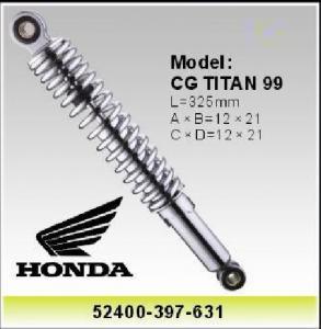 China Honda CG TITAN 99 Motors Shock , 52400-397-631 Motorcycle Spare parts  / Accessory on sale