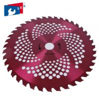 China Heat Dissipation Bush Saw Blades , Stable Bamboo Saw Blade Silent Cutting on sale