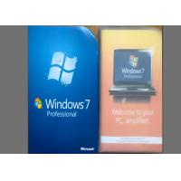 Quality Microsoft  Windows 7 Professional Retail Box Full Version Activation Key for sale