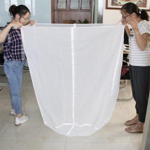 China Extra Large Fine Nylon Mesh Filter Bags , Food Grade Reusable Fine Mesh Straining Bag on sale