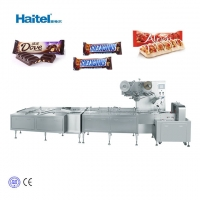 Quality Horizontal Chocolate Candy Bar Pillow Packing Machine for sale