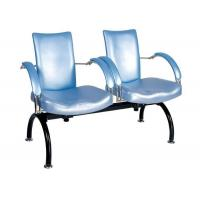 Quality 2 Seat Salon Reception Chairs Public Rest / Beauty Salon Waiting Room Furniture for sale