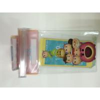 Buy cheap Clear PVC Waterproof  Phone Bag Plastic Printing Services With Offset CMYK Printing from wholesalers