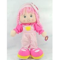 China Kid Cute Plush Toy OEM doll Pink Color on sale