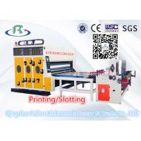 Best High Quality Automatic Multi-Color Water Ink Cardboard Printing Slotting Machine wholesale