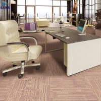 Quality EAKA wholesale hot sale high quality new design pp yarn durable pvc backing commercial grade office carpet square for sale
