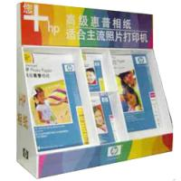 Quality Printed Counter Top CDU PDQ Brochure Display Cardboard Pallet Box / Cardboard Display Box for sale