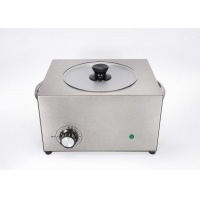 Quality 2500 ml Wax heater steel 5.5LB wax warmer 2.5 L Large wax heater with handle 5 pounds STEEL wax heater for sale