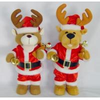 Quality Talking and walking Reindeer Soft Toy Plush Toy for sale