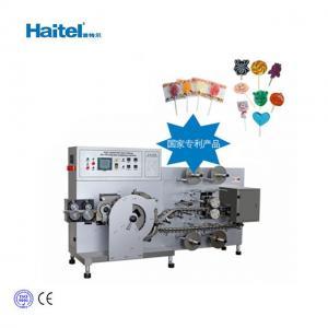 Quality 400pcs/Min Flat Lollipop Candy Making Machine 40kW for sale