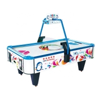 Quality Amusement Air Hockey Arcade Machine With Aluminum Cabinet for sale