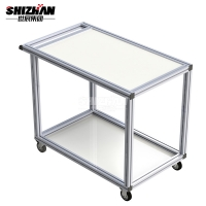 Quality Wide Aluminum Extrusion Profiles T Slot Hexagonal Kitchen Aluminum Profile for sale