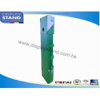 Green Supermarket Retail Corrugated Cardboard Pallet Display Stand , POP Semicircle Detergent Holder