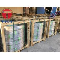 China ASTM A249 304 316 Stainless Steel Tube Welded Coiled Heat Exchanger Tube on sale