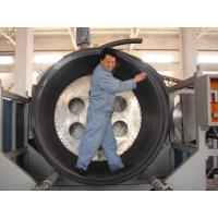 Quality PE Hollowness Wall Spiral Pipe Extruder , 200-3000mm Spiral Pipe Making Machine for sale