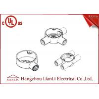 Hot Dip Galvanized Electrical Junction Box One Way To Four Way , Size Customized