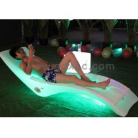 Best Outdoor Using Plastic waterproof  beach pool chaise chair can make different colors wholesale
