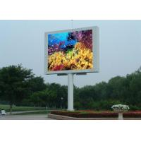 Best 10000dots / sqm LED Video Billboards Easy Maintain LED Outdoor Advertising Board  wholesale