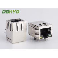 Quality 1000 BASE Network jack Cat6 RJ45 Connector with EMI fingers RoHS compliance for sale