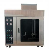 Flammability Testing Equipment Horizontal Vertical Flammability Tester for sale