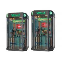Quality Coin Pusher Mini KTV Booth Karaoke Machine With Screen For Mall / Street / Park for sale