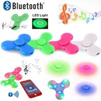 China Spinner Hand led Flash Light Lot lumineux DHL 2017 New Cool Top Tri Spinner Hand Light Rainbow Figet Spiner Glow in Dark on sale