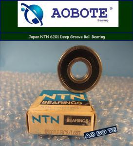 Quality Japan NTN 6201LLBC3 Single Row Ball Bearings With Deep Groove for sale