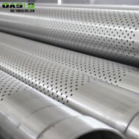 Quality Light Weight Perforated Stainless Steel Pipe Durable For Pipe Base Screens for sale