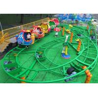 Mini Snail Shape UFO Roller Coaster Customized Height With Chain Lift Structure