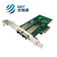 Quality F902E Gigabit 2- Port Fiber Optic PCIe Network Adapter Card with Intel I350 controller for sale