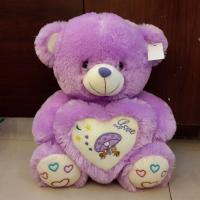 Quality Stuffed Plush Teddy Bear Toys Purple Teddy Bear for sale