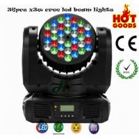 Quality factory bigger sale 36pcs*3w cree led moving head beam lights high quality lower price for sale