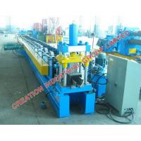 China Galvanized & Color Painted Iron Seamless Gutter Sheet Making Machine for Square Profile Rain Gutters on sale