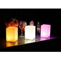 China Rechargeable 16 colors changed  cordless LED bar club home decoration table lamp offered on sale